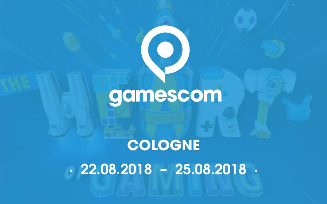 Join us at Gamescom 2018
